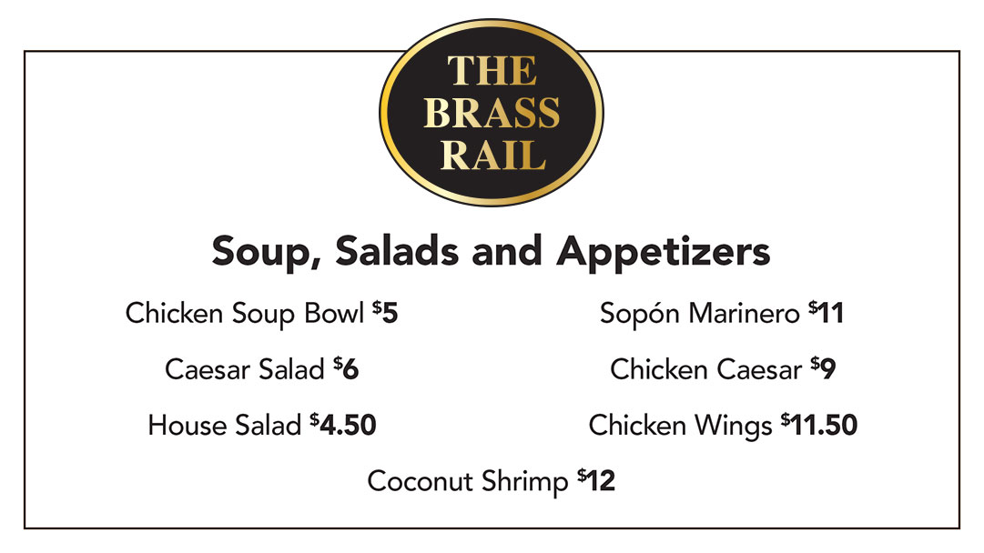 Soups, Salads and Appetizers