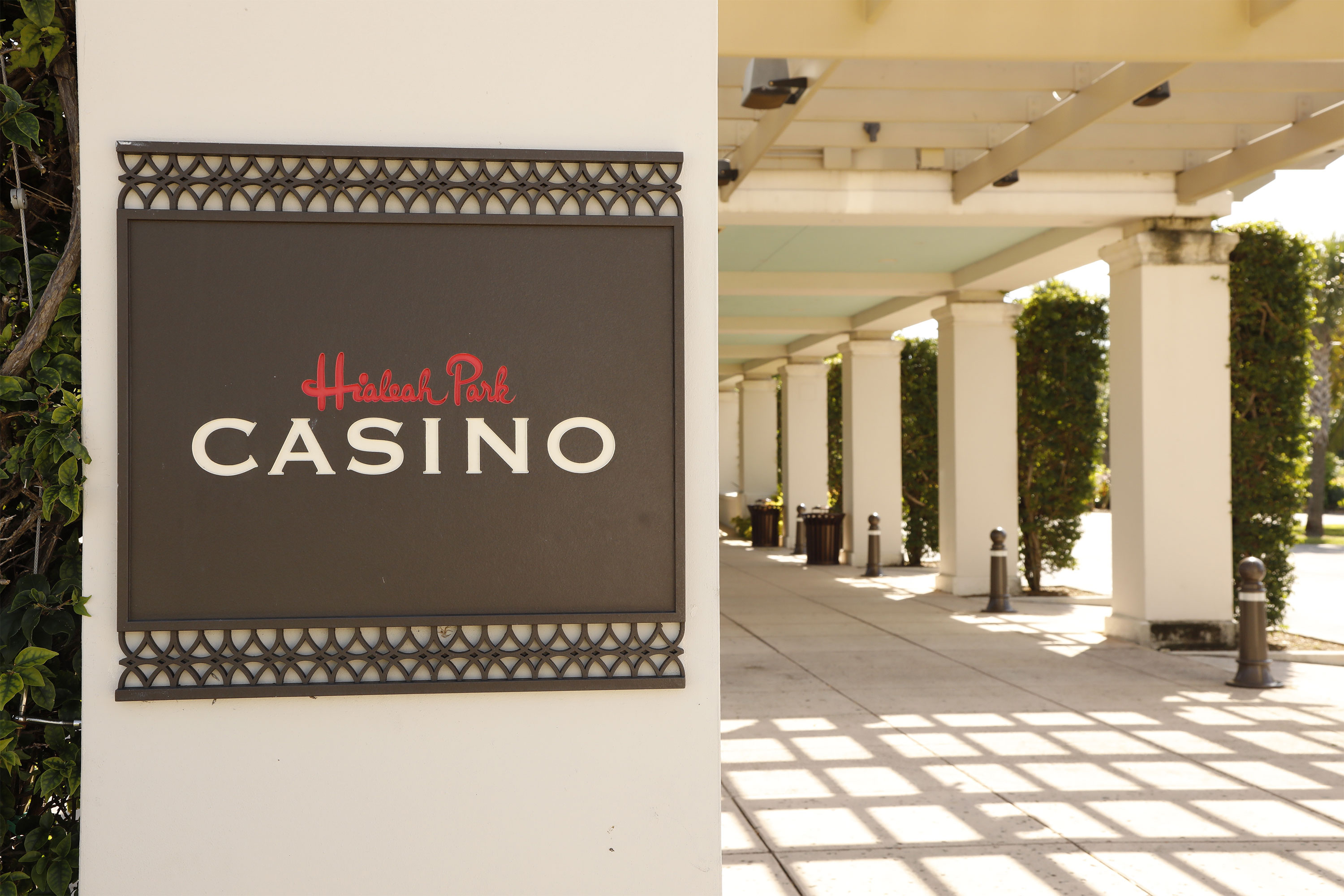 Hialeah Park Casino property sign